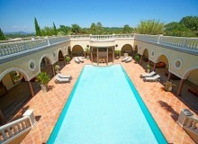villa for rent st tropez route des plages karla swimming pool