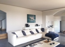 villa for rent st tropez route des plages karla living room