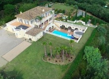 villa for rent st tropez route des plages karla property view