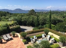 villa for rent st tropez route des plages karla patio sea view