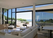 villa for rent escalet ramatuelle sea lodge living area