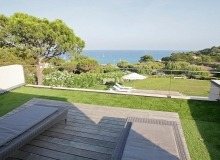 villa for rent escalet ramatuelle sea lodge terrace sea view