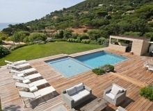 villa for let escalet ramatuelle sea lodge swimming pool