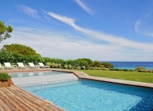 villa for rent escalet ramatuelle sea lodge swimming pool