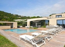 holiday villa escalet ramatuelle sea lodge swimming pool