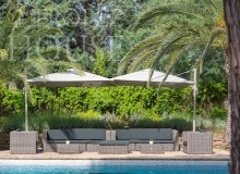 Luxury Villa Belieu Saint Tropez - Outdoor lounge