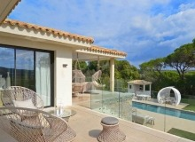 villa for rent st tropez les marres luxe terrace