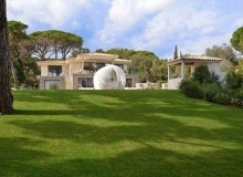 villa for rent st tropez les marres luxe property rear