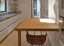 villa for rent st tropez les marres luxe kitchen