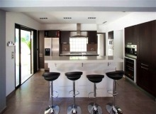 Rent Villa Carpe Diem St tropez - kitchen bar