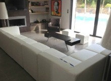 Rent Villa Carpe Diem St tropez - living room