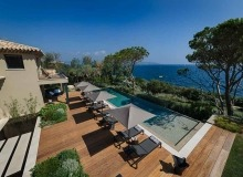 villa for rent les parcs de saint tropez parc nagoya swimming pool sea view