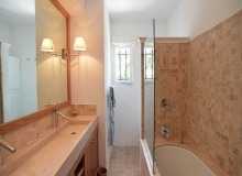 villa for rent les parcs de st tropez hacienda bathroom