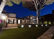 villa for rent les parcs de st tropez hacienda property front