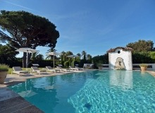 villa for rent les parcs de st tropez hacienda swimming pool