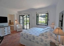 villa for let les parcs de st tropez hacienda bedroom