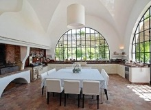villa for rent les parcs de st tropez hacienda dining area
