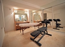 villa for rent les parcs de st tropez hacienda gym room