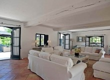 villa for rent les parcs de st tropez hacienda living area