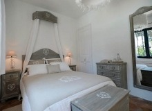 villa for rent les parcs de st tropez hacienda bedroom