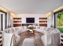 villa for rent les salins st tropez hollywood living room