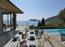 villa for rent escalet flamingo terrace sea view