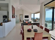 villa for rent escalet flamingo dining area
