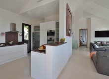 villa for rent escalet flamingo kitchen
