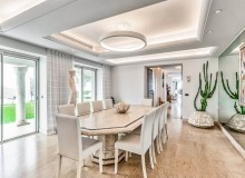 villa for rent les parcs de st tropez cosmos dining area