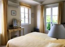 villa for let gassin golf course st tropez bedroom