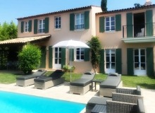villa for rent gassin golf course st tropez exterior