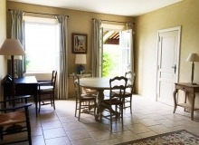 villa for rent gassin golf course st tropez dining room