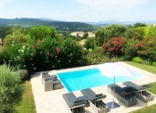 villa for rent gassin golf course st tropez pool garden