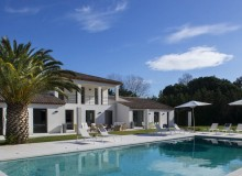villa for rent st tropez les salins many swimming pool