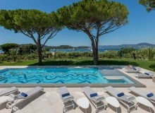 villa for rent st tropez canoubiers swimming pool