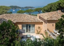 villa for rent st tropez canoubiers sea view