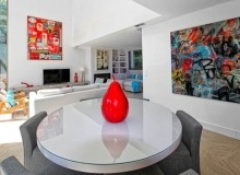 villa for rent carlo st tropez centre dining living area