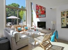 villa for rent carlo st tropez centre living room