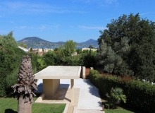 villa for rent carlo st tropez centre sea view