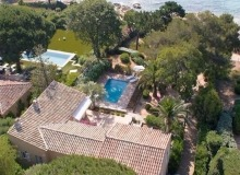 villa for rent escalouis escalet property birdview