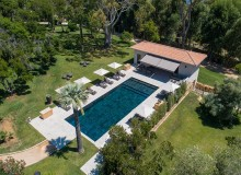 villa for rent louise la croix valmer domaine louise swimming pool