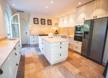 villa for rent white parrot les parcs st tropez kitchen