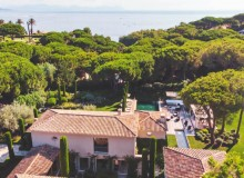 villa for sale white parrot les parcs st tropez sea view