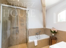 Luxury Family Villa Cap Bastide for Rent in Saint Tropez - bathroom 1