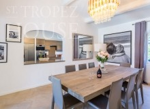 Luxury Family Villa Cap Bastide for Rent in Saint Tropez - dining