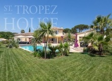 Luxury Family Villa Cap Bastide for Rent in Saint Tropez - garden
