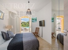 Luxury Family Villa Cap Bastide for Rent in Saint Tropez - bedroom 4