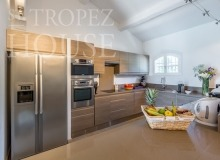 Luxury Family Villa Cap Bastide for Rent in Saint Tropez - kitchen