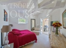 Luxury Family Villa Cap Bastide for Rent in Saint Tropez - bedroom 3