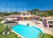 Luxury Family Villa Cap Bastide for Rent in Saint Tropez - main view